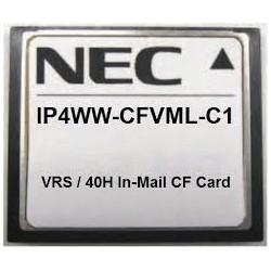 Tarjeta compact flash (VRS/VMS) 40 horas Nec