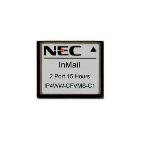 Tarjeta compact flash (VRS/VMS) 15 horas Nec