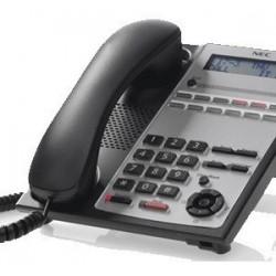 Telefono Multilinea Analogico 12 Teclas (Negro) Nec