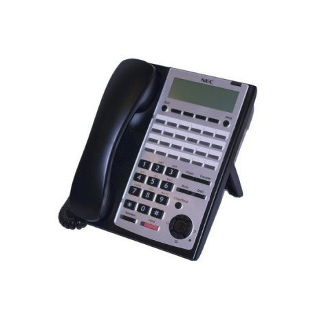 Telefono Multilinea Analogico 24 Teclas (Negro) Nec