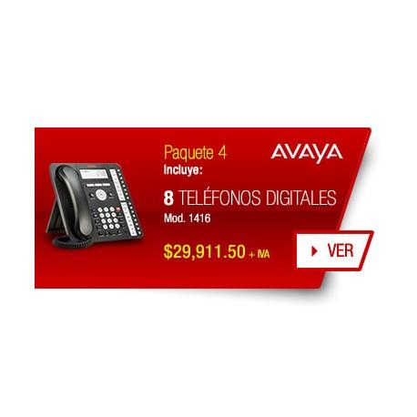 Paquete 4 Avaya