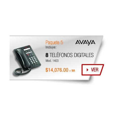 Paquete 5 Avaya
