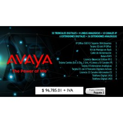 Paquete 2 Avaya