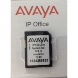 IP OFFICE V2 SYSTEM SD CARD