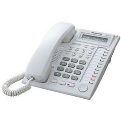 Teléfono Multilinea Manos Libres con Pantalla KX-T7730 Panasonic